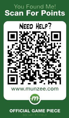 Munzee - outdoor scavenger hunt using your smartphone.