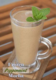 Frozen Peppermint Mocha Herbal Coffee - The Herbal Spoon