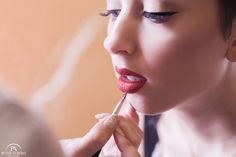 Creating perfect Red Lips- Karla Powell