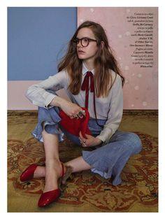 """Nouveau Naif"" IO Donna Magazine August 2015"