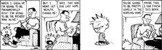 Calvin and his diatribe