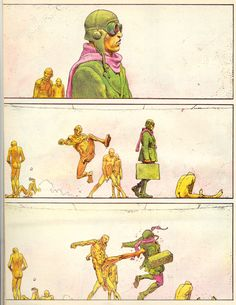 Moebius always had a good grasp of balancing simplicity with detail.