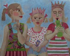 Party Girls by catriona millar, via Flickr