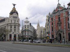 Gran Vía, esquina con calle Alcalá