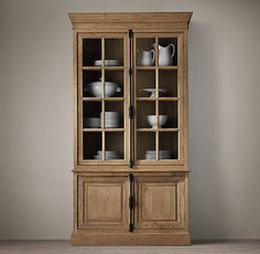 Decor Look Alikes | Restoration Hardware French Casement Sideboard and Hutch $1795 vs $1499 @Crate and Barrel