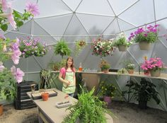 Complete kits for Geodesic Dome Greenhouses. $1699