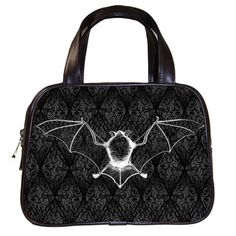 Bat hand bag by StuffoftheDead on Etsy