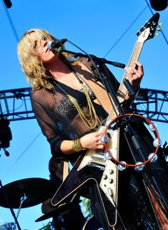 Grace Potter & The Nocturnals Rock N Roll Music, Rock And Roll, Billy F Gibbons, Pretty Girl Images, Grace Potter, Lita Ford, Guitar Photography, Women Of Rock, Music Is My Escape