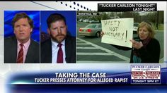 Tucker Carlson pressed the defense attorney for an illegal immigrant who is accused in the rape of a 14-year-old Maryland girl in a boys' bathroom at Rockville High School.