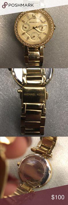 Michael Kors Watch small wrist MK gold watch. Michael Kors Accessories Watches