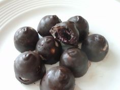 Homemade Chocolate Covered Cherries: All Natural, Sugar Free! | The Healthy Advocate