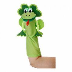 Frog Sock Puppet Kit