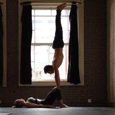Sick: partner yoga practice