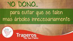 Reciclemos los papeles y cartones que utilizamos en casa y trabajo para proteger nuestros bosques y árboles, además de ahorrar energía en el procesamiento, contribuimos para cuidarnos nosotros mismos. Dona lo que ya no uses para que otras personas le puedan dar un segundo uso y así evitar el generar mas desperdicios.  Central: 258-3889 RPC: 943520010 Email: donaciones@traperosdesanpablo.org www.traperiasanpablo.org #Reciclaje #Donación #Ecología #Perú #Traperos #Traperia