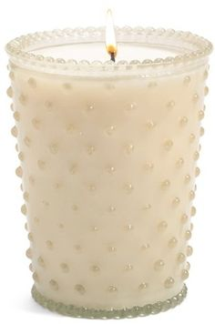 Simpatico Hobnail Glass Candle Hygge #affiliate