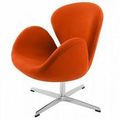 Fotel Nicotine insp. Swan Chair