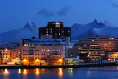 Winter in Bodø, Norway. The place I consider my home town.