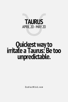 Zodiac Mind - Your source for Zodiac Facts Sun In Taurus, Taurus Moon, Taurus And Gemini, Taurus Bull, Astrology Taurus, Zodiac Signs Taurus, Zodiac Mind, Pisces Horoscope, Taurus Quotes