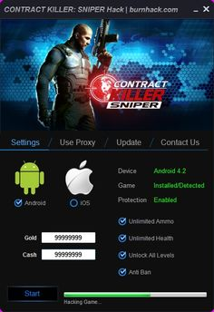 CONTRACT KILLER: SNIPER Hack Tool Cheat Android/iOS  http://burnhack.com/contract-killer-sniper-hack-tool-cheat-androidios/