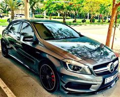 mercedes wallpapers, hd car wallpapers and backgrounds Mercedes A45 Amg, Mercedes Car, Super Sport Cars, Super Cars, A Class Amg, New Car Wallpaper, Ford Mustang Wallpaper, Mercedes A Class, Car Backgrounds