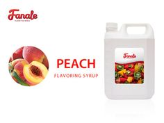 Buy Peach Syrup At $ 21.95-Fanale