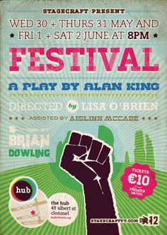 Festival Stagecraft Poster 2012