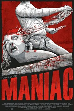 Maniac, originally made in the eighties, this re make stars elijah wood as a surprisingly good maniac! Worth a watch, 6.7 out of 10.