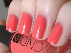 CND Tropic Coral- this is my absolute favorite polish color right now.