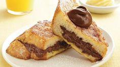 Chocolate-Stuffed French Toast