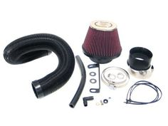 K&N 57-0441 Performance Intake Kit Guaranteed to increase horsepower. Designed to improve throttle response and engine sound. Replaces entire factory air intake system. Not legal for highway use in states adopting California emission regulations. Washable and reusable lifetime air filter.  #K&N_ENGINEERING #Automotive_Parts_and_Accessories