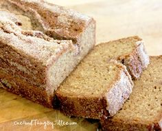 If you've never had Amish Friendship Bread before, give it a try! It's delicious and it's fun to share the starters with friends and neighbors!