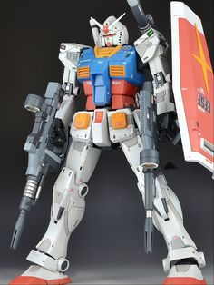 GUNDAM GUY: MG 1/100 RX-78-2 Gundam The Origin - Customized Build