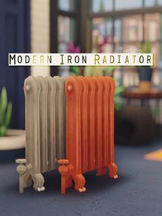 MODERN IRON RADIATOR at Picture Amoebae • Sims 4 Updates