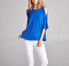 New Arrival!  This Royal top is a knock out!