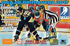 Se viene la Liga de Primavera 2017. Comienzo 5 de Agosto Reunión de Capitanes 2 de Agosto. Todas las categorías! No te la pierdas! #liga #roller #hockey #argentina #2017 #peru #beach http://ift.tt/2ts1ruB - http://ift.tt/1HQJd81