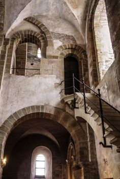 Old Monastery and Church 1 Conques. Aveyron. Fr. by jennystokes on DeviantArt