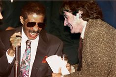 Richard Pryor and Robin Williams---would love to have been there!