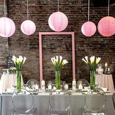 Go shabby chic with this set of 3 Hot Air Balloon Paper Lanterns in Gold And White. Addaerial displays and add layers of personality. Sold as an assorted set including three coordinating designs for added visual effect. Made from white paper with gold print, simply suspend them at your reception and voila! Add fresh f Paper Lantern Centerpieces, White Paper Lanterns, Hanging Paper Lanterns, Large Lanterns, Pink Lanterns, Cake Centerpieces, Hanging Decorations, Wedding Lanterns, Wedding Decorations
