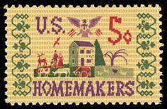 1964 5c Homemakers Scott 1253 Mint F/VF NH