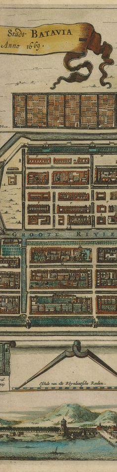 Batavia map 1669 detail