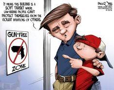 Presumptuous Politics: Pro Gun Cartoons
