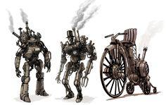 Steampunk Robots!