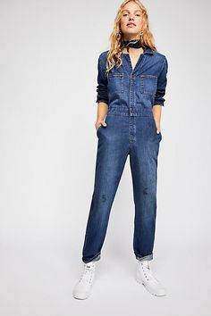15fd1f60efb Lee Union Coverall - Long Sleeve Denim Coverall Jumpsuit Jean Overalls