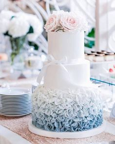 Ruffles & Roses Cake