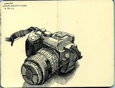 camera in yavapai lodge hotel room by paul heaston, via Flickr