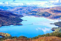 Loch Katrine, the Trossachs, Scotland.