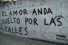 El amor anda suelto por las calles  Accion Poetica