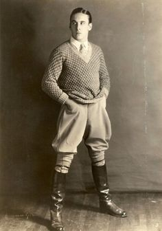 Men's fashion in the 1920's went through just as much change as women's fashion.