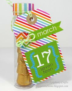 Popper & Mimi Paper Crafts: St. Patricks Day Treat Tubes