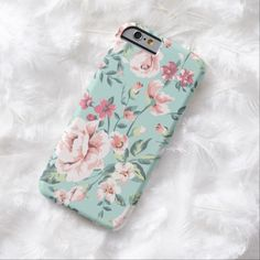 It's a cool iPhone 6 Case! This Cottage Floral Pattern iPhone 6 Case is ready to be personalized or purchased as is. It's a perfect gift for you or your friends.